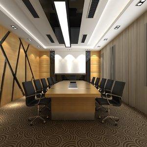 modern meeting room model