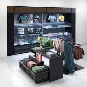 shop clothes 3D