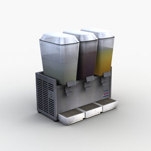 3D juice dispenser