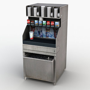3D soda dispenser