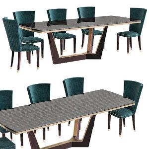 3D model furniture dinning