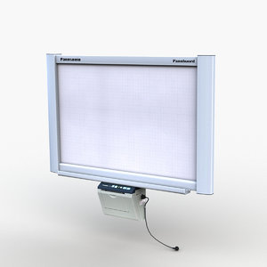 3D interactive electronic whiteboard