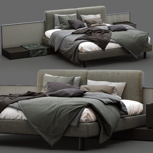 3D meridiani bed cliff