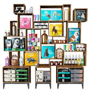 shelves animal model