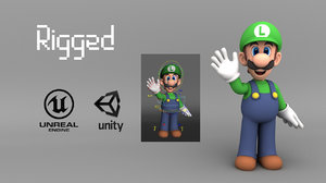 luigi rig unity 3D