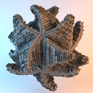 3D cataclysm sci fi