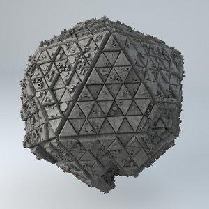 3D - formats model