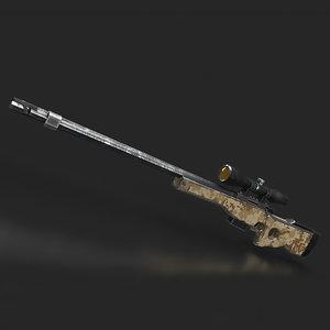 3D awp gun