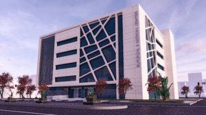 medical surgical center plans 3D model