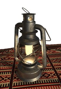 traditional lamp 3D model