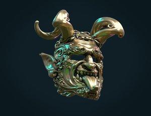 3D mask demon