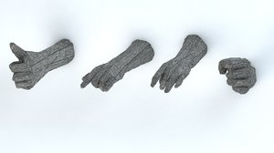 3D hands - model