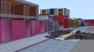 downtown zombie 3D
