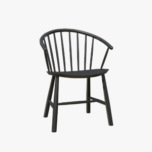 furniture furnishing chair 3D model