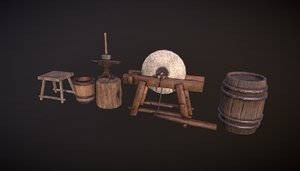 3D blacksmith package