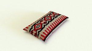 3D saudi pillow model