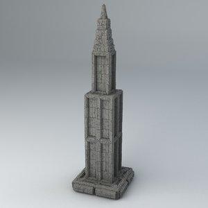- formats 3D model