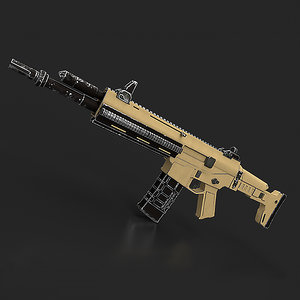 3D model acr gun remington