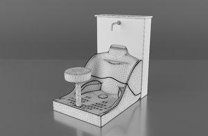 ablution 3D model