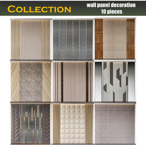 3D wall panel decoration