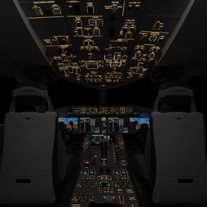 3D boeing 787