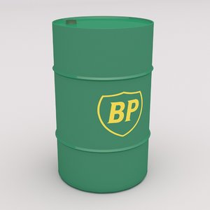 3D model bp barrel