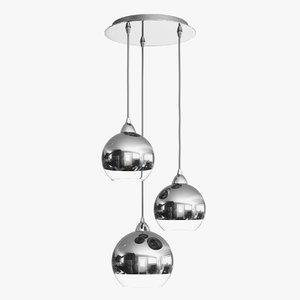 3D nowodvorski globe iii 9306