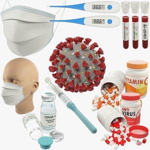 3D medical v4 model