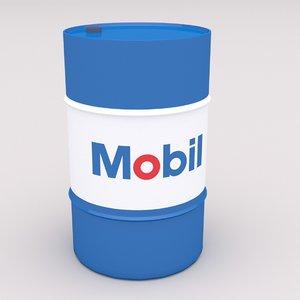 mobil barrel model