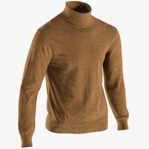 realistic men s pullover 3D model