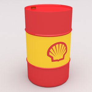 shell barrel 3D model