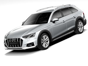 audi a4 allroad 2021 3D model