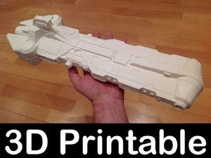 3D pelta frigate wars