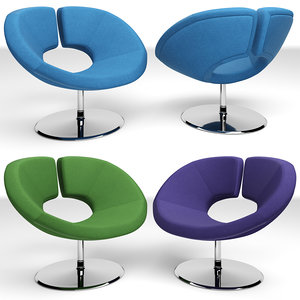 apollo chair 3D