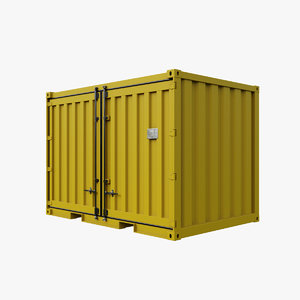 12ft container 3D model