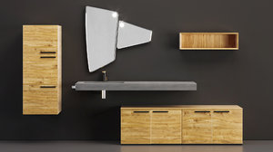 furniture arblu lineo sink 3D model
