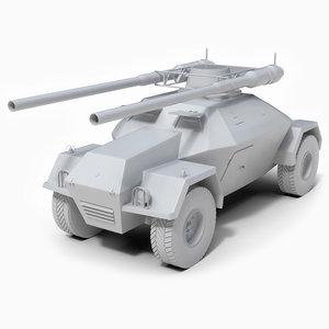 military vehicle jarmila ii model