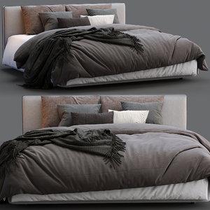 alberta bed laguna 3D