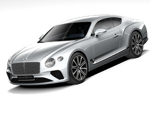 bentley continental gt 2021 3D