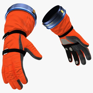 3D ocss spacesuit gloves space model