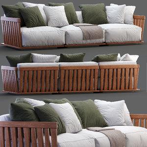 flexform sofa zante model