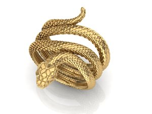 jewelry printing 2 rows 3D model