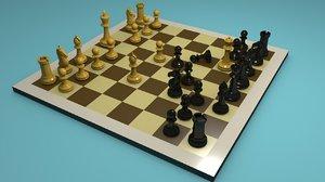 3D chess design printing