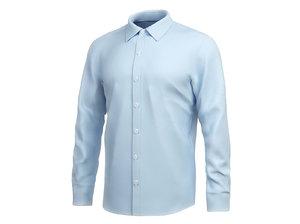 shirt long sleeve 3D model