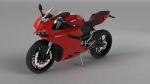 ducati 899 panigale 3D model
