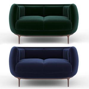wittmann vuelta sofa 3D