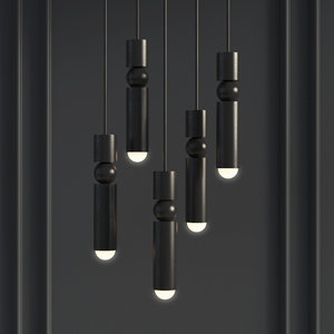 fulcrum light matte black 3D