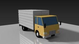 vehicle truck 3D model