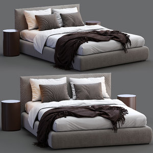3D meridiani bed scott model