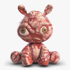 meat toy 3D model